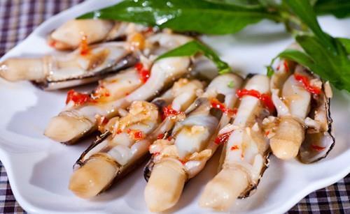 Bãi biển Đồng Châu - đặc sản con ngón tay