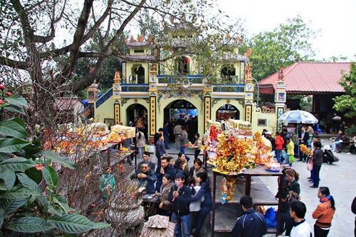 Đền Bà Chúa Kho Bắc Ninh - thành tâm cầu khấn
