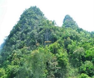 Núi Các Mác ở khu di tích Pác Bó