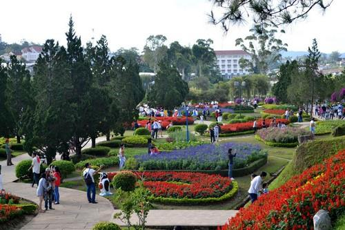 Da Lat city and attractions