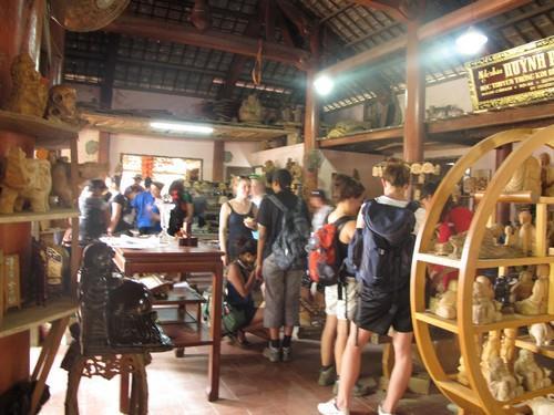 Kim Bong carpentry village