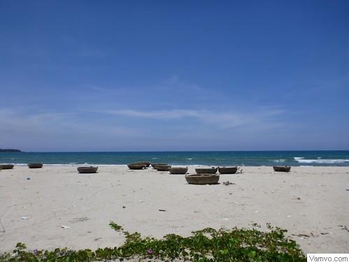 Bãi biển Mỹ Khê ở Quảng Ngãi