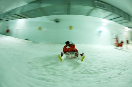 Trượt tuyết ở Khu du lịch Đại Nam Bình Dương
