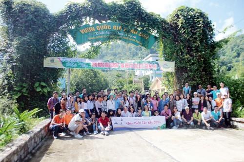 Vườn quốc gia Xuân Sơn đón đoàn du lịch Famtrip